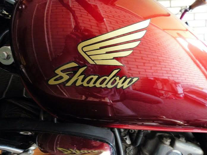 Sticker motortank Honda Shadow